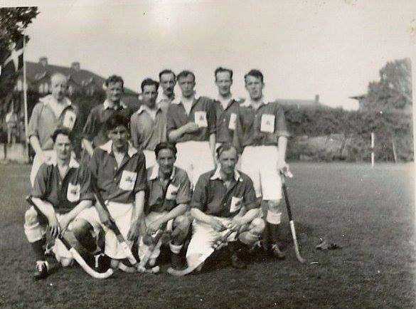 Irish team in Denmark 1940s