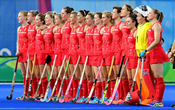GB Women Rio 2016 final