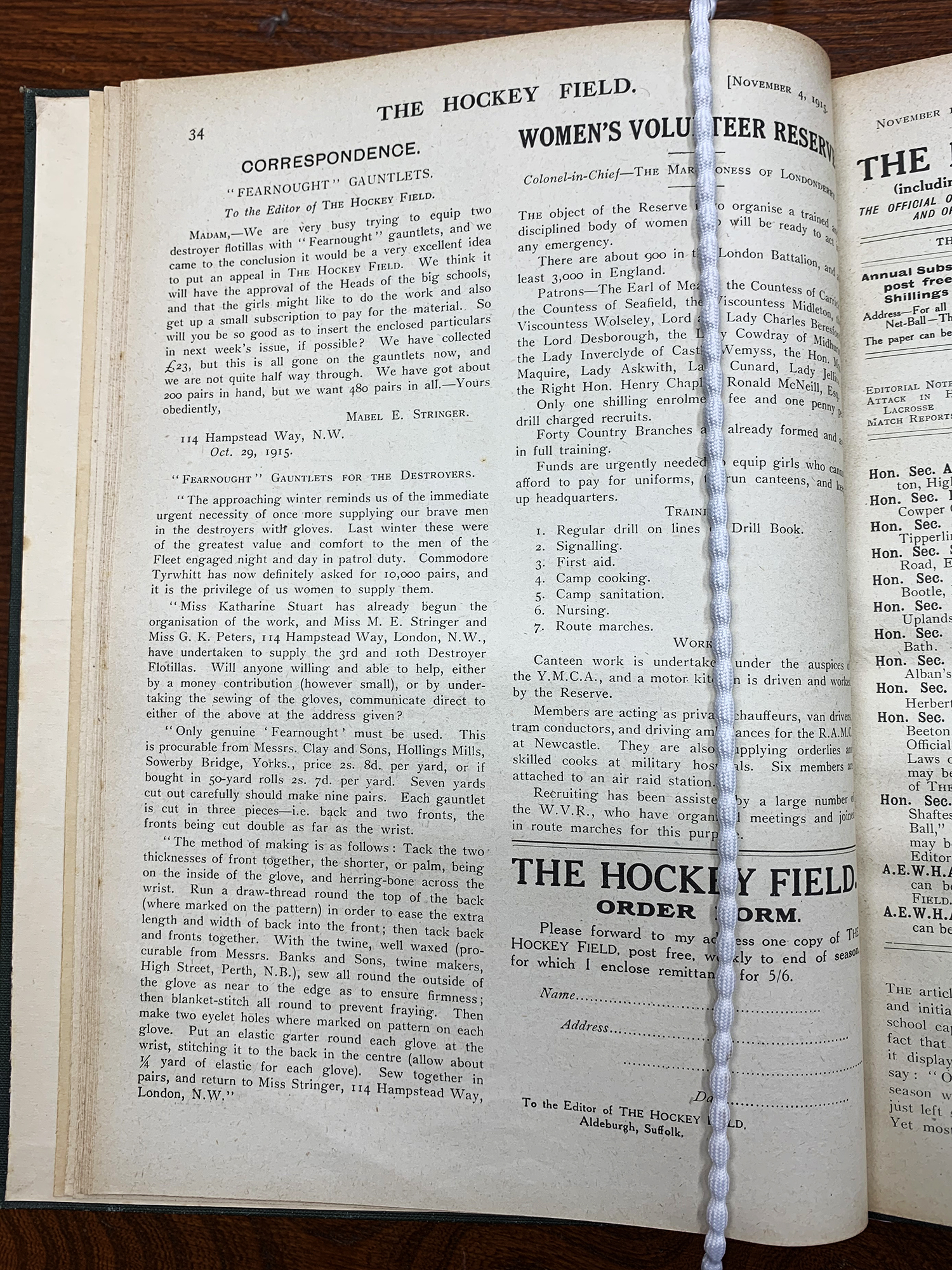 Fearnought Gauntlets The Hockey Field article 04101915