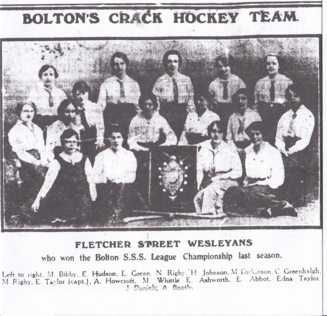 Playing Pasts Fletcher Street Wesleyans 1915 16